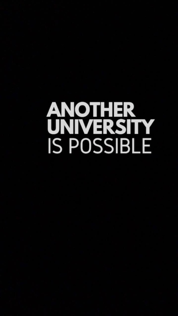 Another university is possible